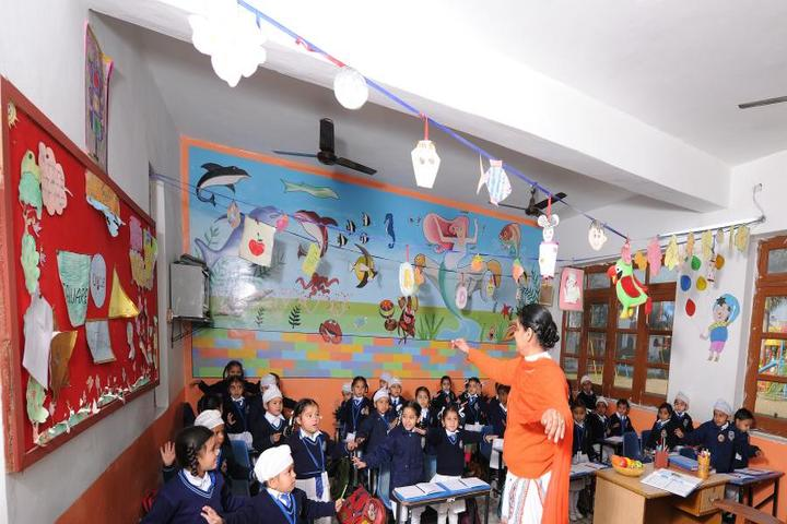 Sri Guru Harkrishan Public School-Smart Class