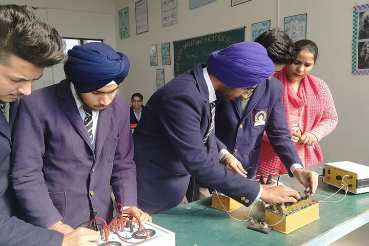 Sri Guru Harkrishan Public Senior Secondary School-Physic Lab