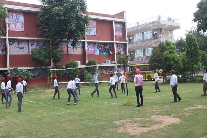 Sri Guru Harkrishan Public Senior Secondary School-Play Ground