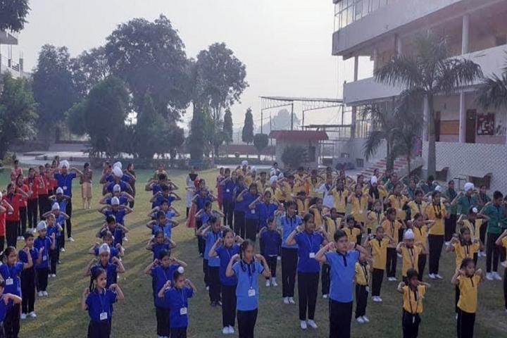 Sri Guru Harkrishan Public Senior Secondary School-Assembly