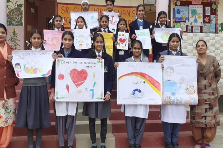 Sri Guru Harkrishan Public Senior Secondary School-Drawing