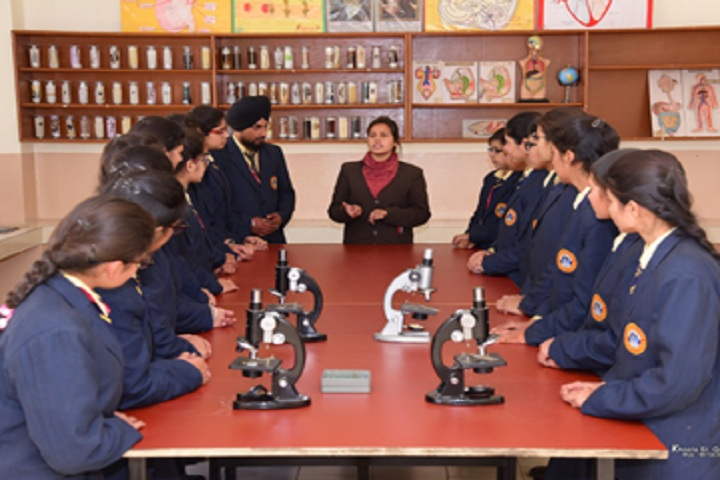 St Kabir Public School-Laboratory biology