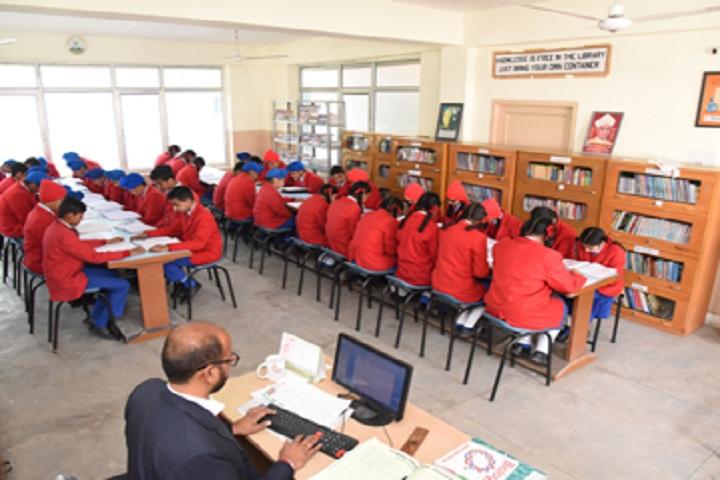 St Kabir Public School-Library