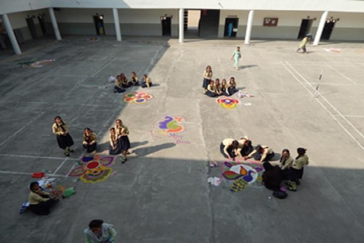 St Kabir Public School-Others rangoli