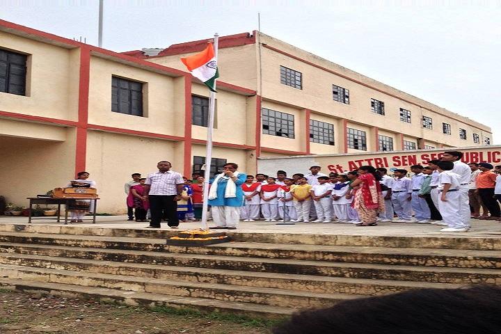 St Attri Public School-Independance day Celebration