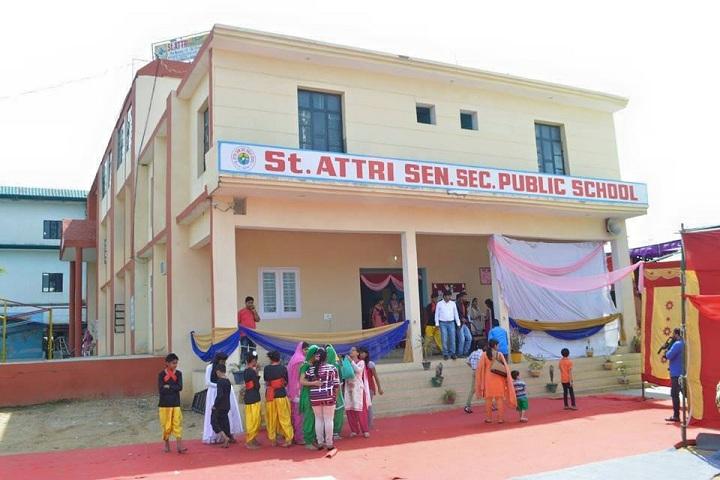 St Attri Public School-School Front view