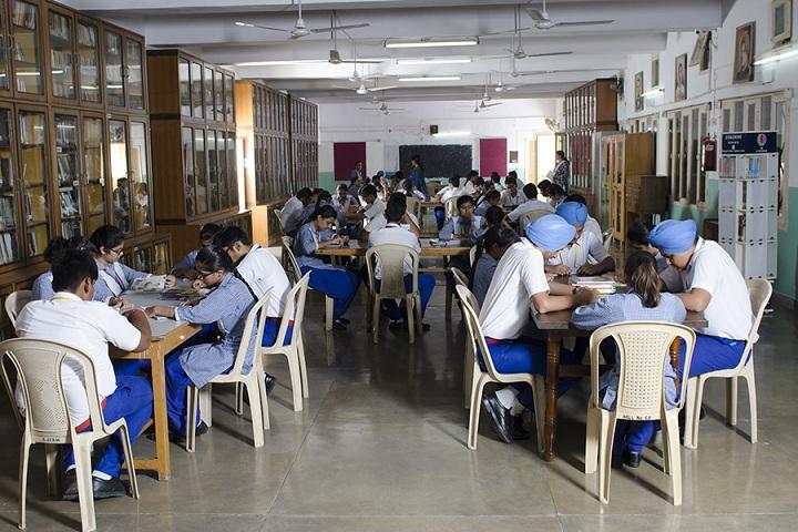St Josephs Convent Secondary School-Library