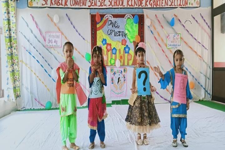 St Kabir Convent School-Dancing Activity