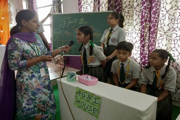 St Kabir Conven School-Spell Bee Competition