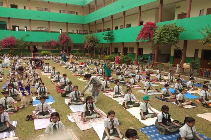 St Kabir Convent School-Yoga Activity