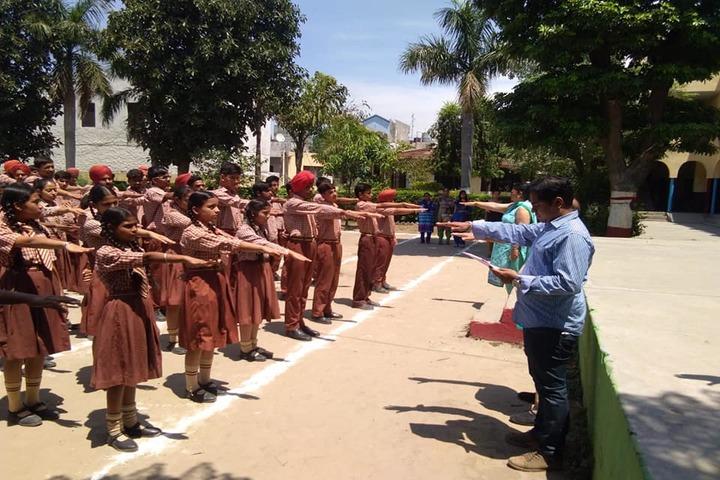 St Soldier Divine Public School-Assembly