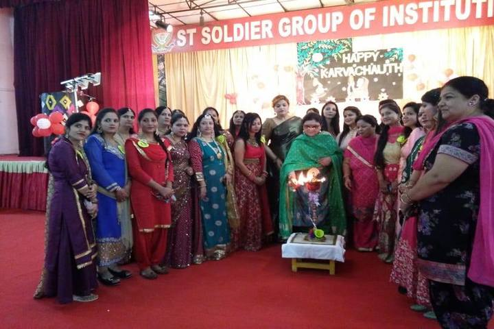 St Soldier Divine Public School-Farewell