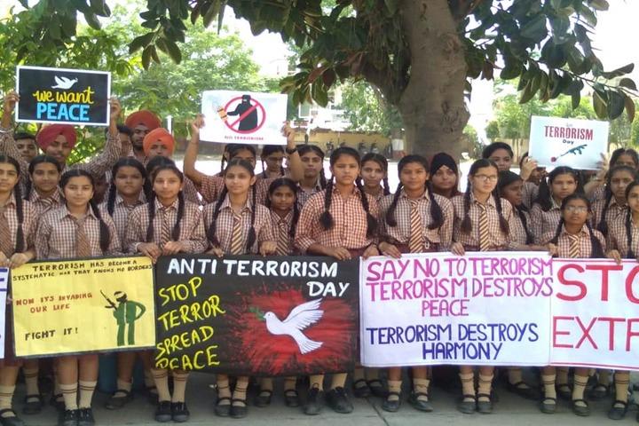 St Soldier Divine Public School-Rally