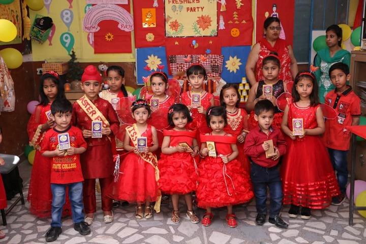 St Soldier Divine Public School-Red Day