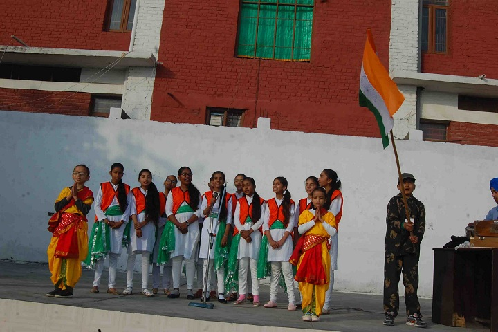 St Soldier Elite Convent School Chawinda Devi-Republic Day Celebration