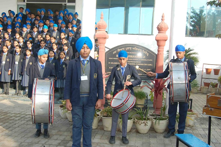 St Soldier Elite Convent School Chawinda Devi-School Activity