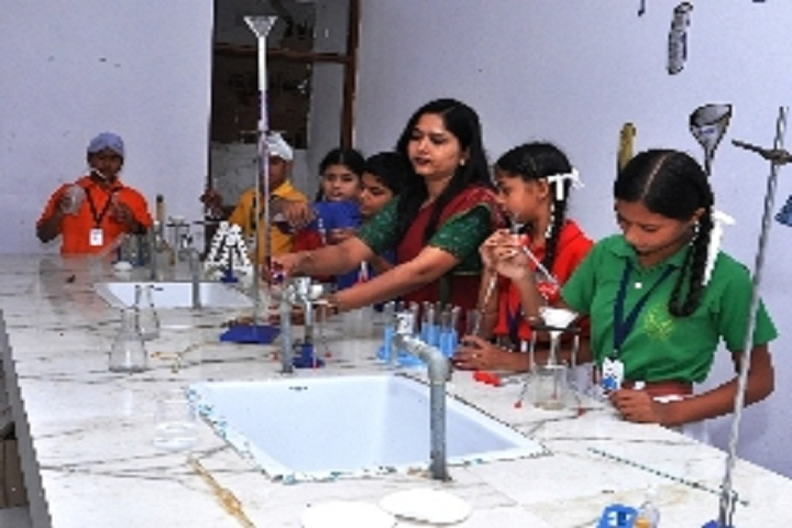 St Soldier Elite Convent School Chawinda Devi-Science lab
