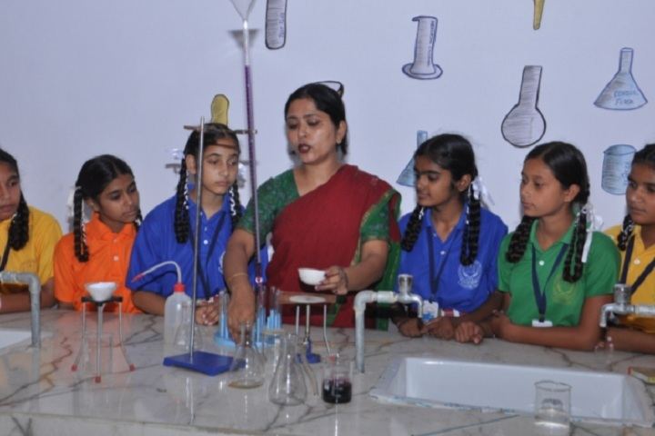 St Soldier Elite Convent School Chawinda Devi-Chemistry Lab