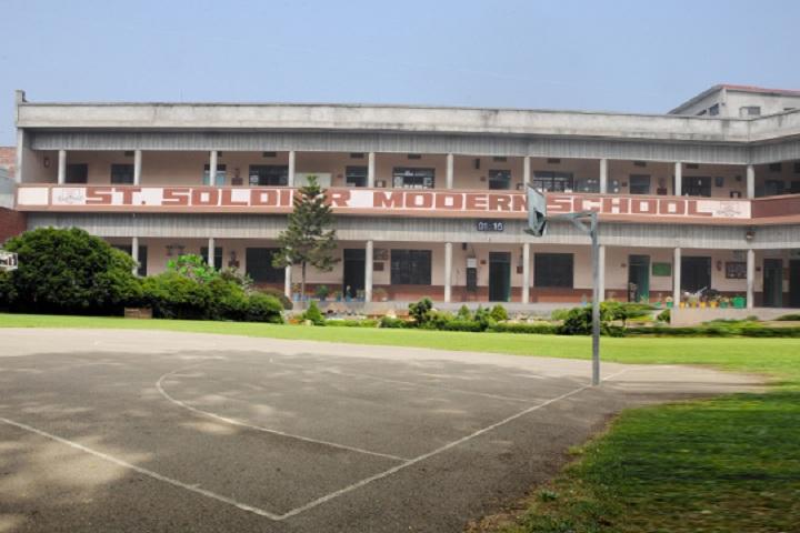 St Soldier Modern School-School Building