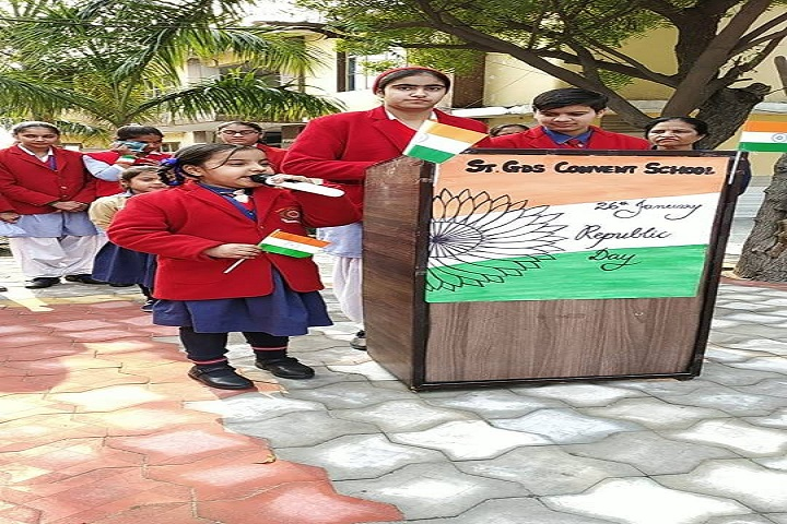 St GDS Convent School-Republic day