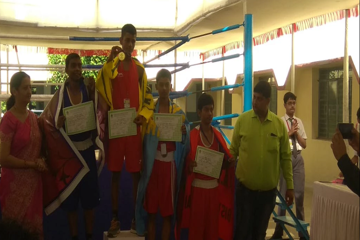 Jesus and Mary Academy-Gold medal and Certificate distribution