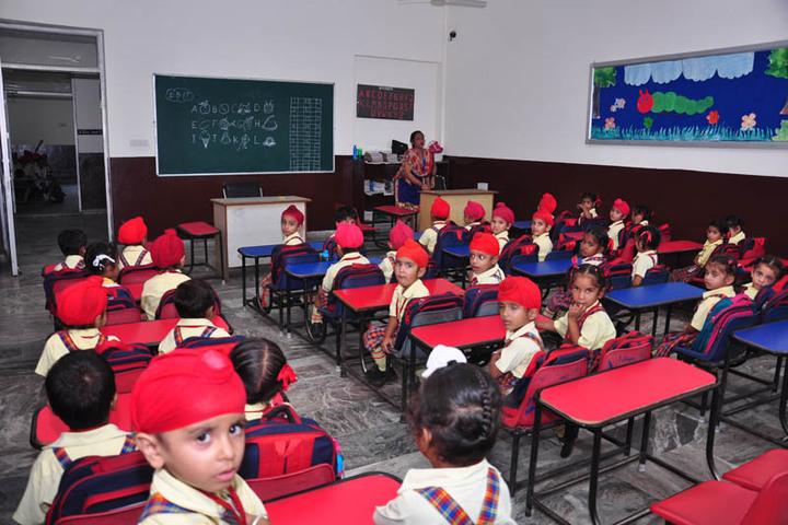 St Peters Convent School-Kids Classroom