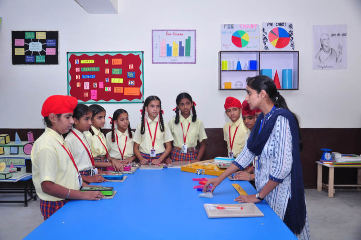 St Peters Convent School-Maths Lab