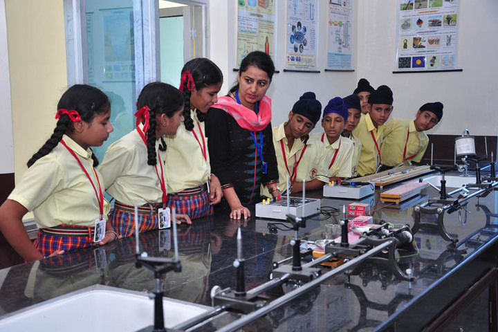 St Peters Convent School-Physics Lab