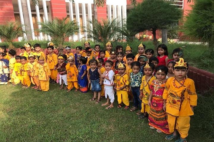 St Sai Senior Secondary School-Janmashtmi Celebrations