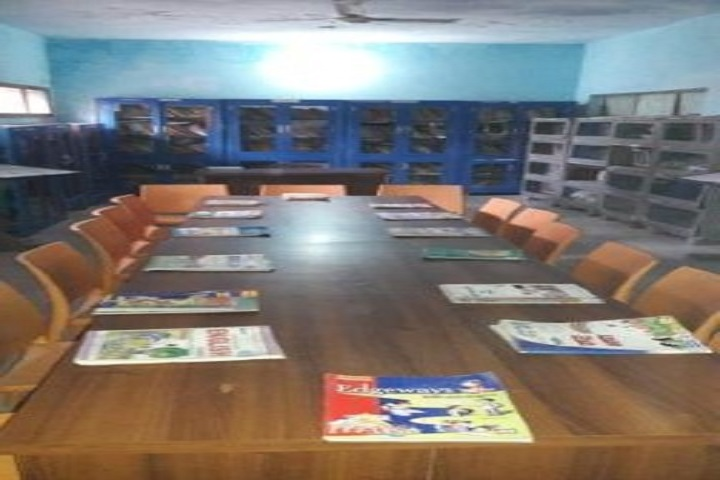 St Sai Senior Secondary School-Library