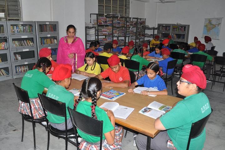 St.Soldier Smart School-Library