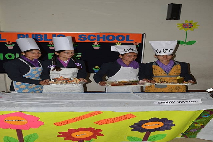 Sukhjinder Memorial Public School-Cooking Competition