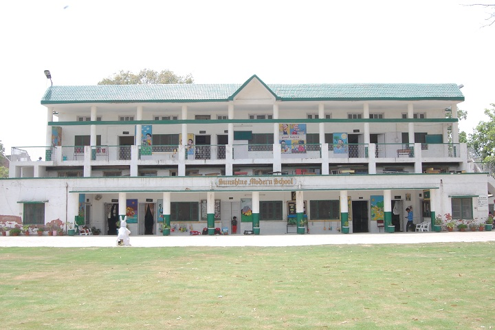 Sunshine Modern Cantonment Board School-Building