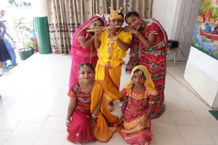 Sunshine Modern Cantonment Board School-Janmashtmi Celebratiosn