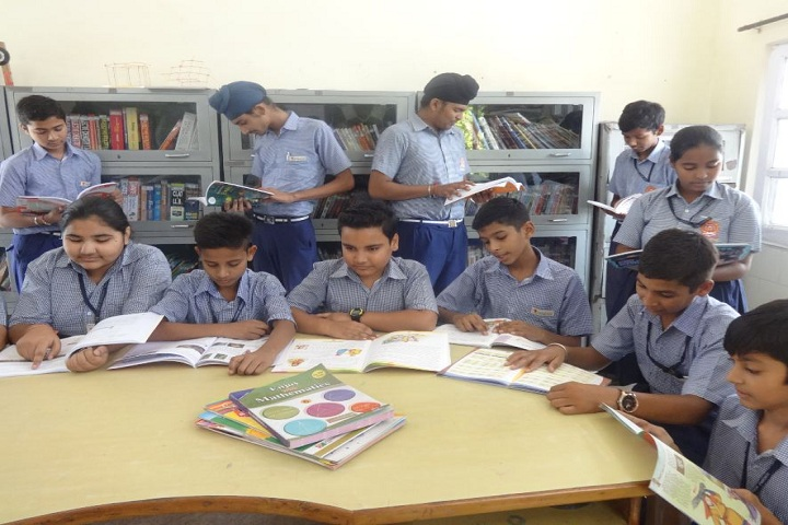 Sunshine Modern Cantonment Board School-Library