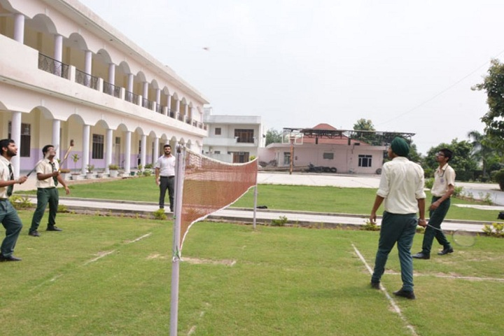 Swami Mohan Dass Model School-Tennis cout