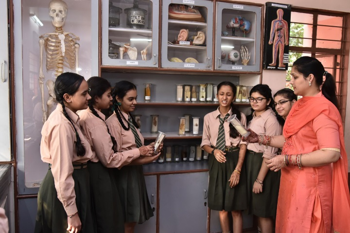 Swami Sant Dass Public School-Biology Lab