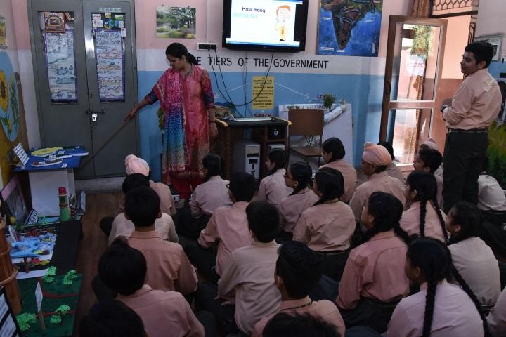 Swami Sant Dass Public School-Social Lab