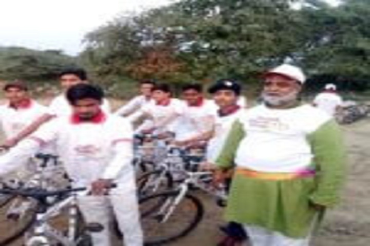 Kainat International School-Swachh Bharat Cycle Rally