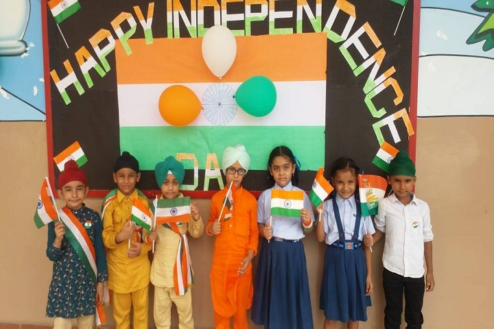 Tejas Public School-Independence-Day