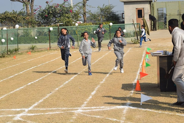 Tejas Public School-Running Competition