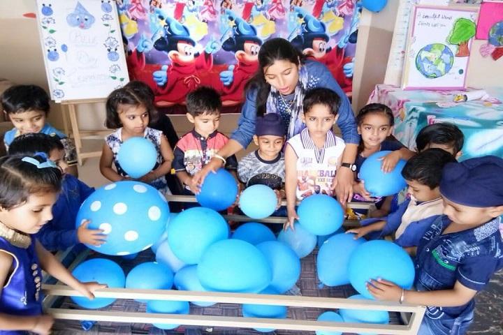 Temple City Public School-Blue Day Celebration