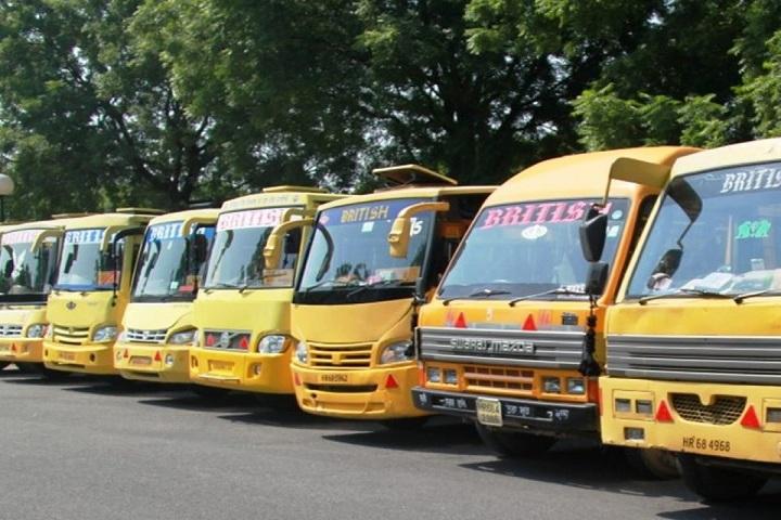 The British School-Transport