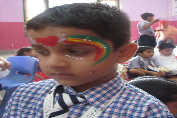 The Gladiolus School-Face Painting