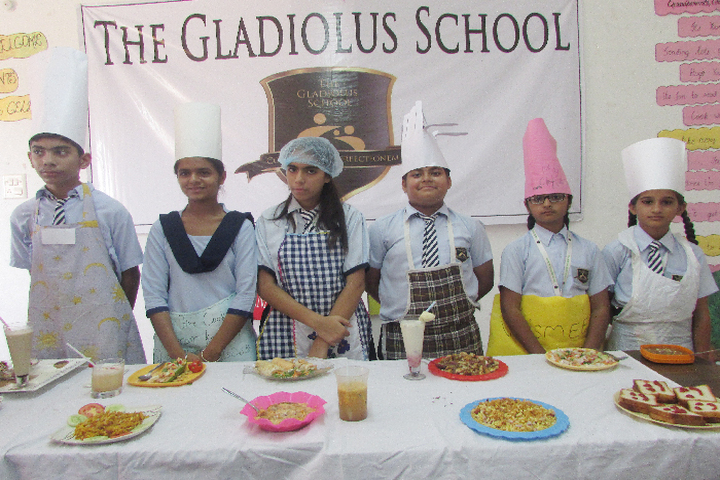 The Gladiolus School-Food Making Compitition