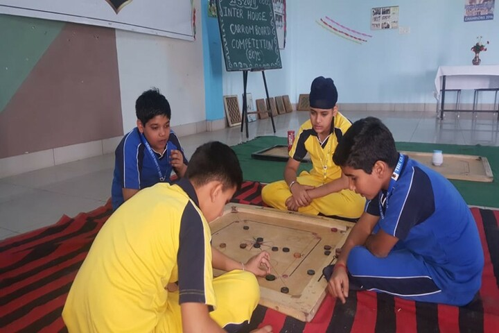 The Gladiolus School-Indoor Games
