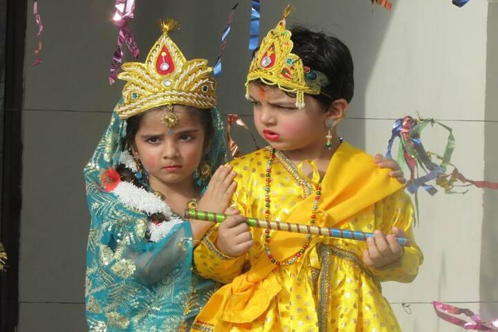 The Gladiolus School-Krishnastami Celebtrations