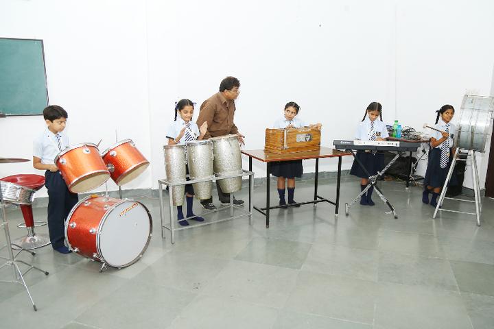 The Gladiolus School-Music Room