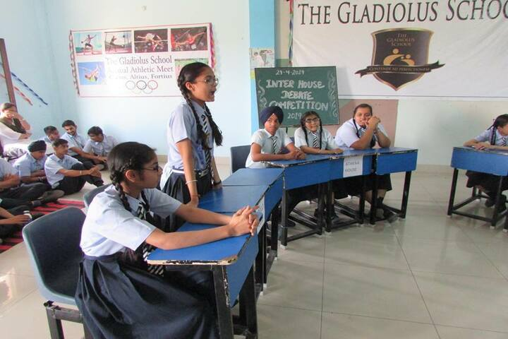 The Gladiolus School-Quiz
