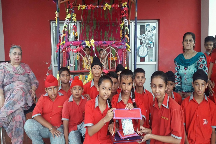 The Heritage School -Red day celebrations